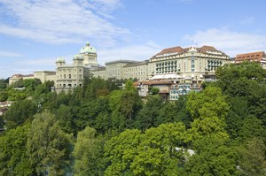 5-star Hotel Bellevue Palace in Berne, Switzerland