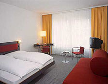 Double Room at the Hotel Kreuz in Berne, Switzerland