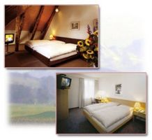 The rooms at the Hotel Gasthof Loewen in Berne-Muensingen, Switzerland