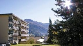 The Hotel Cresta Sun in Davos