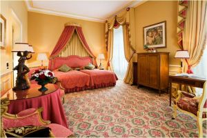 Sissi-Suite at the Hotel Beau Rivage, Geneva