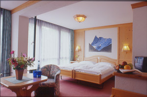 Double Room at the Hotel Eiger Grindelwald, Switzerland