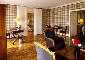 Deluxe Suite at the Victoria-Jungfrau Grand Hotel & Spa Interlaken, Switzerland