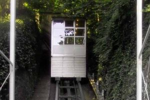 The Hotel Montana Funicular