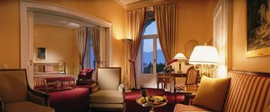 Suite at the Montreux Palace in Montreux, Switzerland