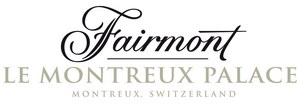 The 5-star Fairmont Le Montreux Palace Hotel in Montreux, Switzerland