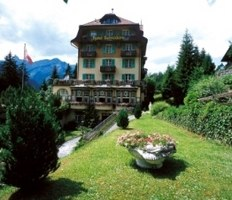 Hotel Belvedere in Wengen, Switzerland