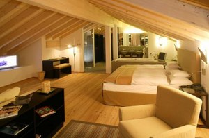 Alpine Residence Suite at the Hotel Mirabeau in Zermatt, Switzerland