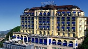 The 4-star Hotel Montana in Lucerne, Switzerland