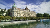The 5-star Hotel Palace in Lucerne, Switzerland